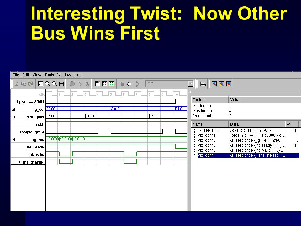 Interesting Twist: Now Other Bus Wins First