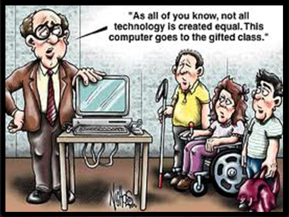 The Master Technology Teacher recognizes that technology may be assistive, instructional or both, depending on a student's instructional and developmental needs.