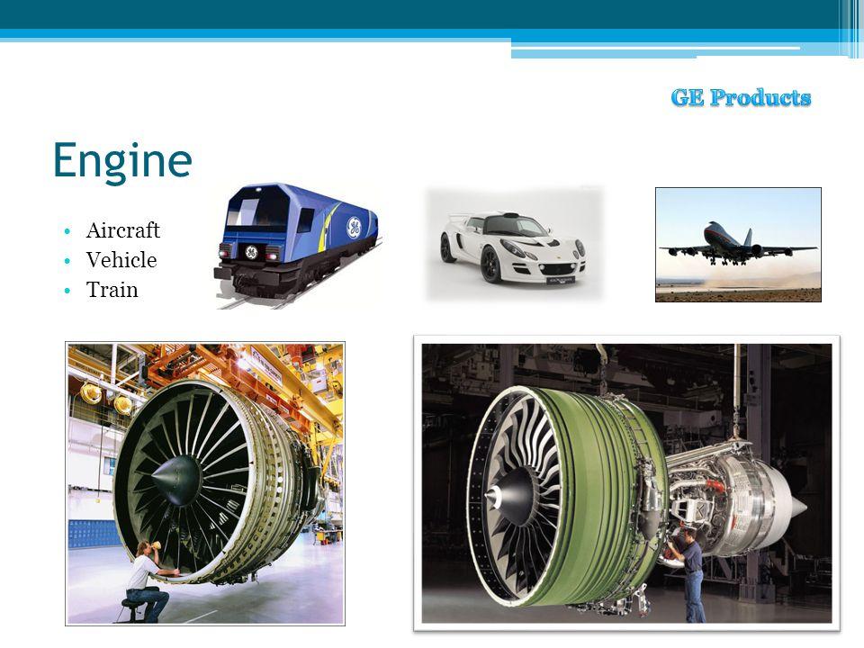 Engine Aircraft Vehicle Train