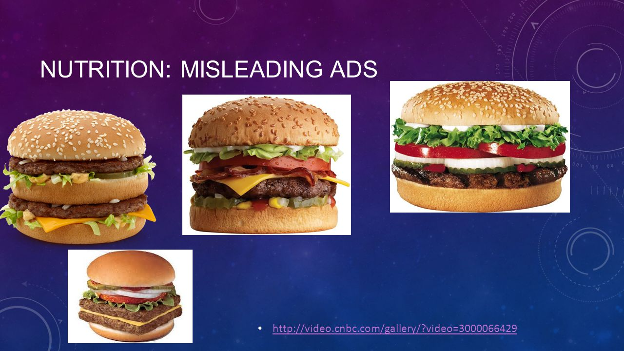 NUTRITION: MISLEADING ADS http://video.cnbc.com/gallery/?video=3000066429
