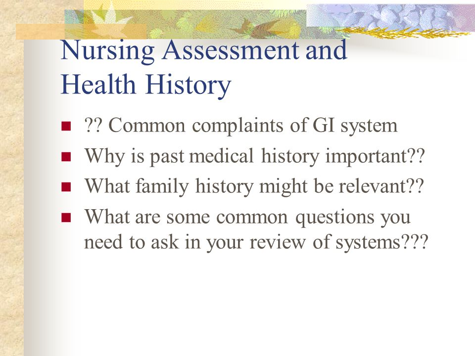 Therapeutic Measures & Related Nursing Interventions With GI Patients