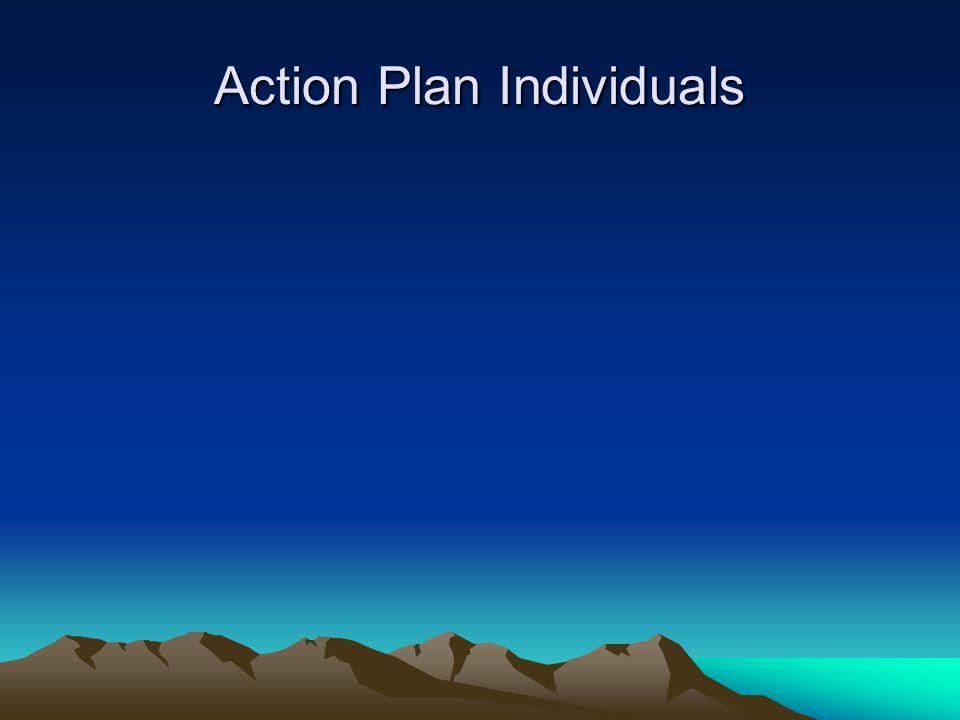 Action Plan Individuals