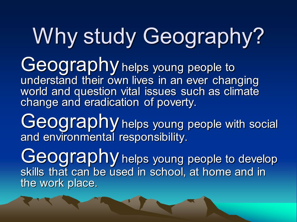 What is The Geographical Association.
