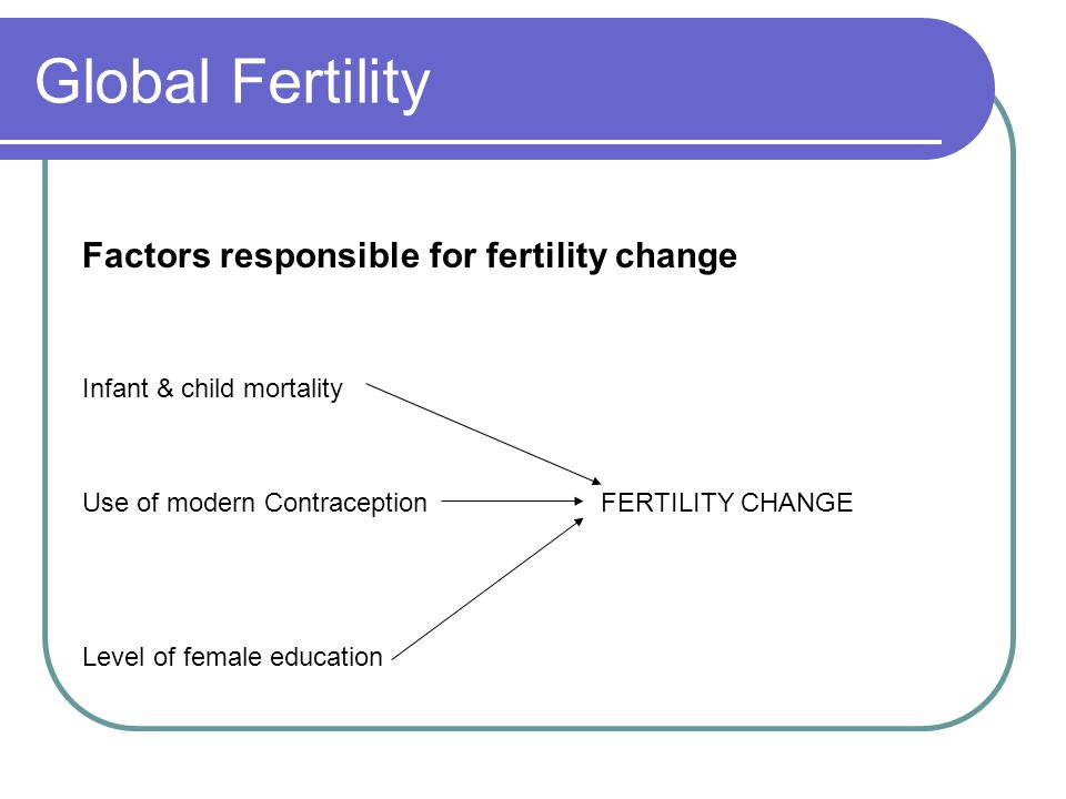 Global Fertility The Synergistic Effect of Female Education See diagram.
