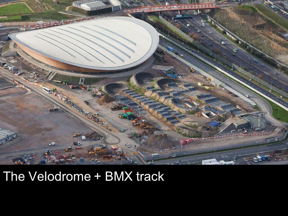 The Velodrome + BMX track