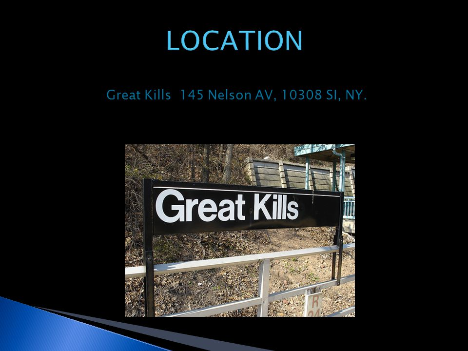 Great Kills 145 Nelson AV, 10308 SI, NY.