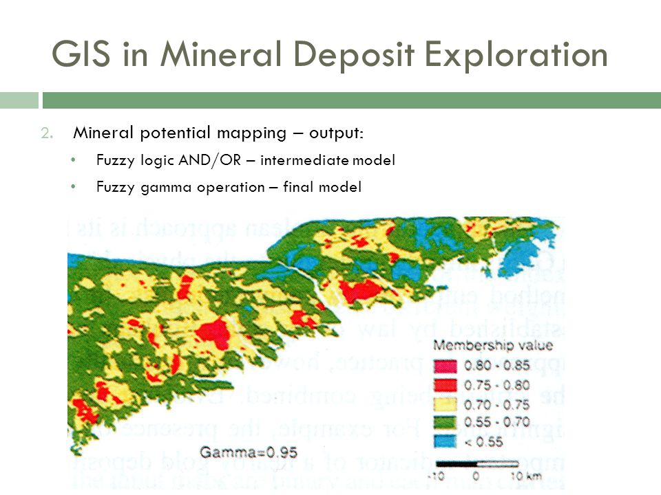 GIS in Mineral Deposit Exploration 2.