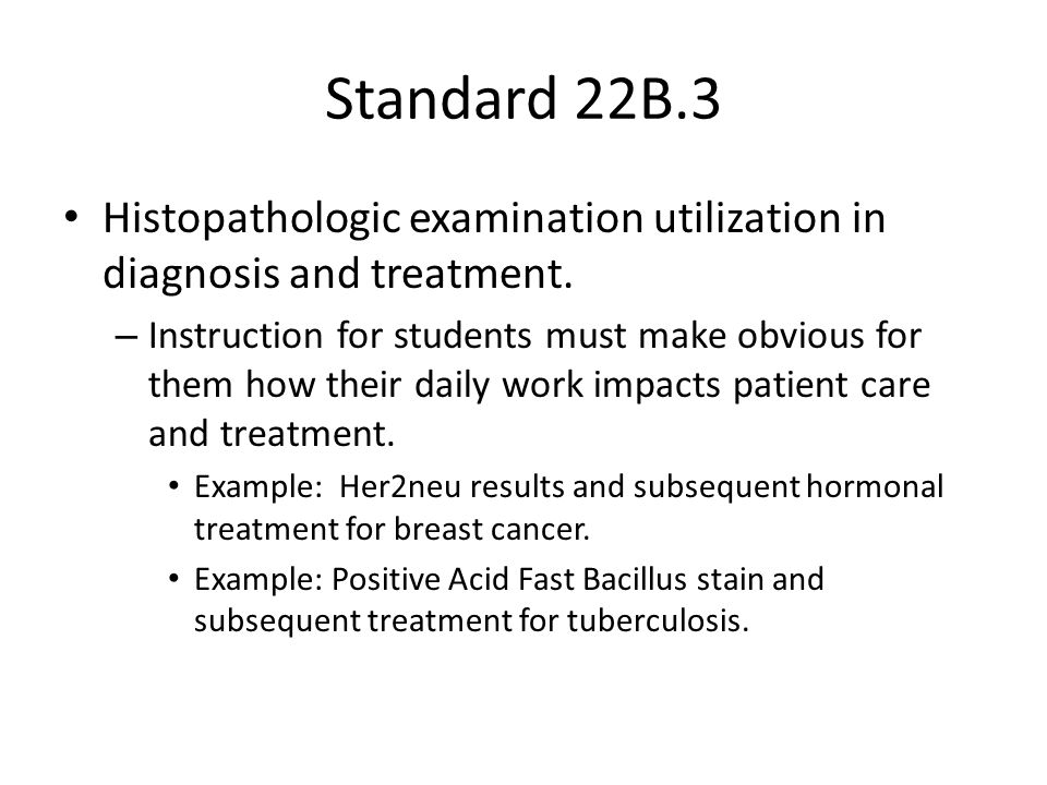 Standard 22B.4 Communications sufficient to serve the needs of patients and the public – Although the primary work of an HT is within the confines of a laboratory, practicing HTs are often called upon to interface with service technicians or patients seeking materials for second opinion.