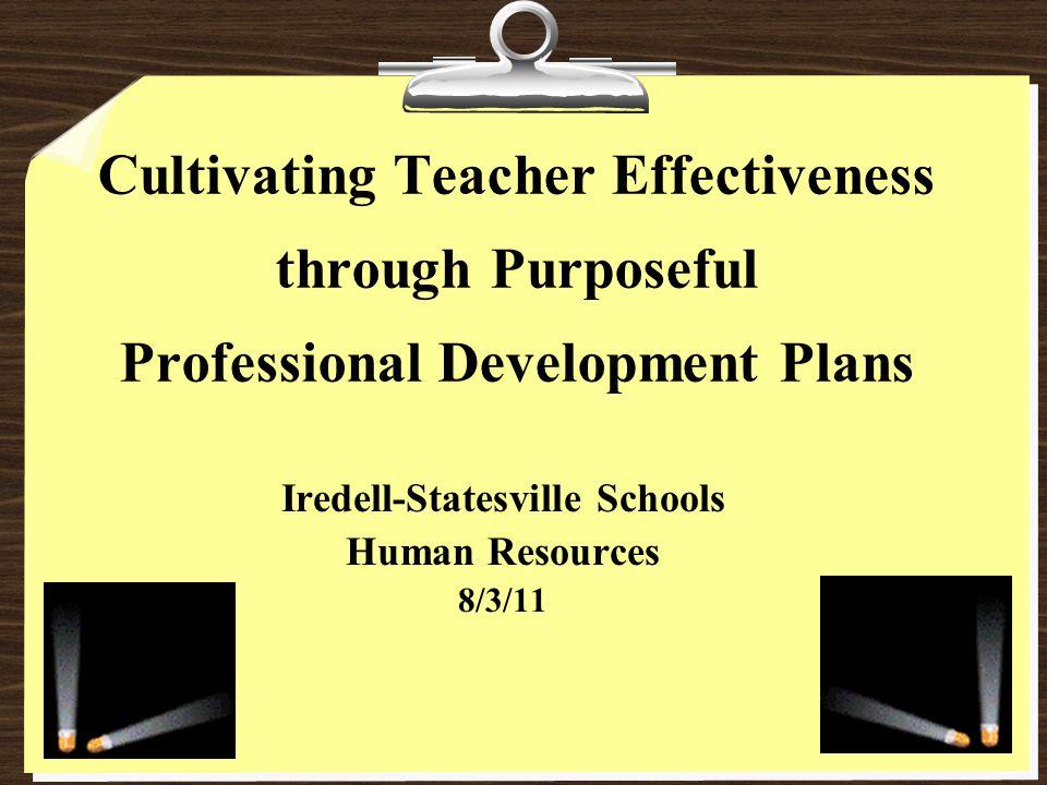 North Carolina Educator Evaluation System 2010-11