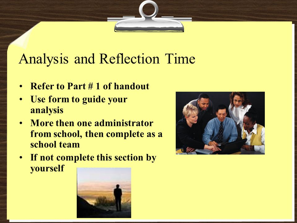 Effective PDPs Refer to Part # 2 of handout Complete with a partner or as a school team