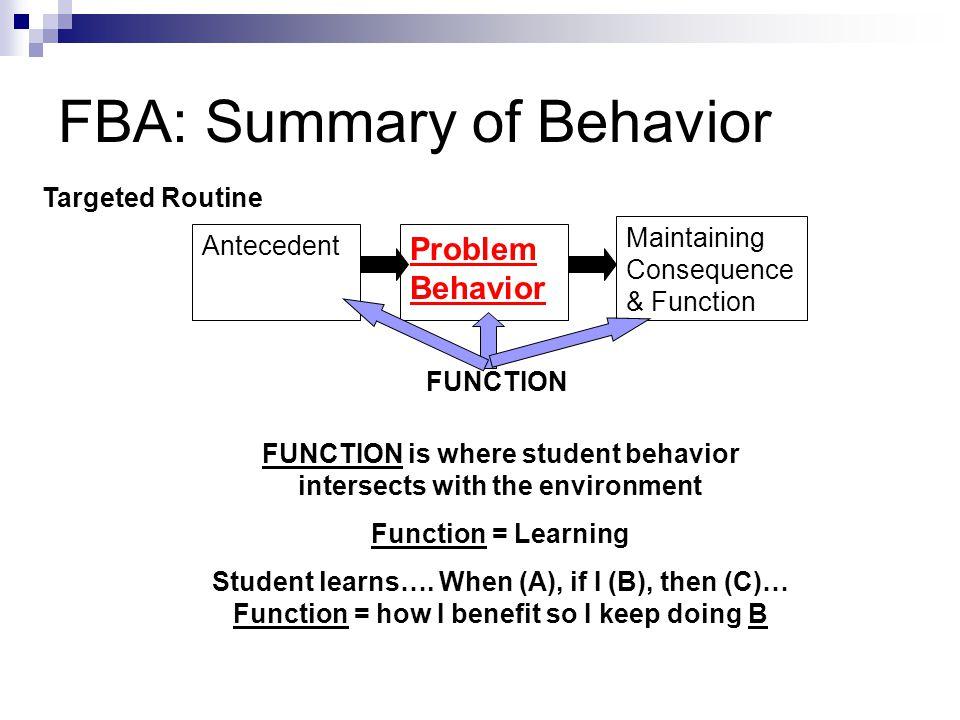 Identifying the Alternate Behavior 1.Serve same Function.