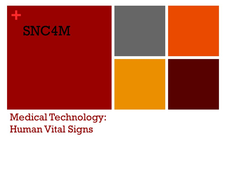 + Essential Questions: What are the four primary vital signs in humans and how are they measured.