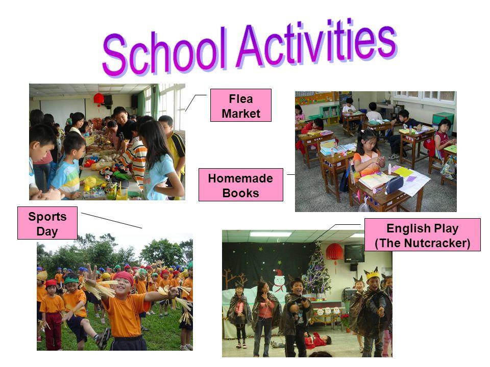 Flea Market Homemade Books English Play (The Nutcracker) Sports Day