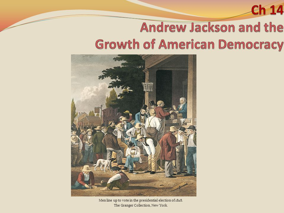 Purpose What- We are going to learn about cooperation How- by understanding how democracy grew during the age of Jackson Why- so we understand how it affects my life.