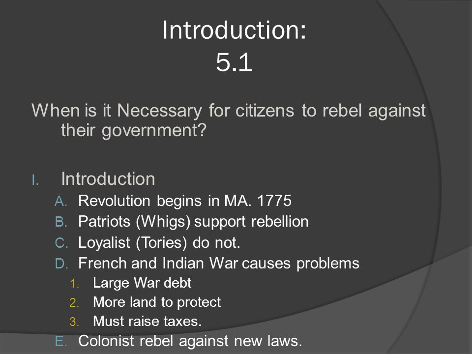 Toward Independence 5.2 II.Before 1763 A. People came to the American colonies for: 1.