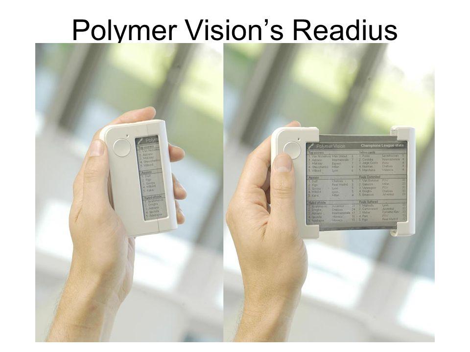 Polymer Vision's Readius