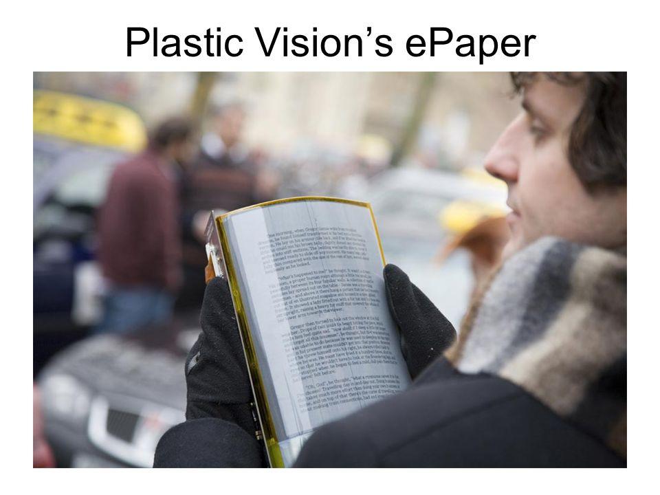 Plastic Vision's ePaper