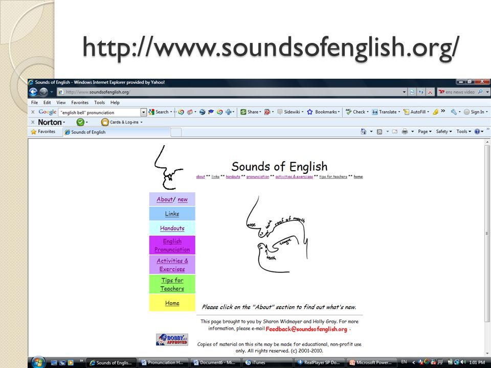 http://www.soundsofenglish.org/