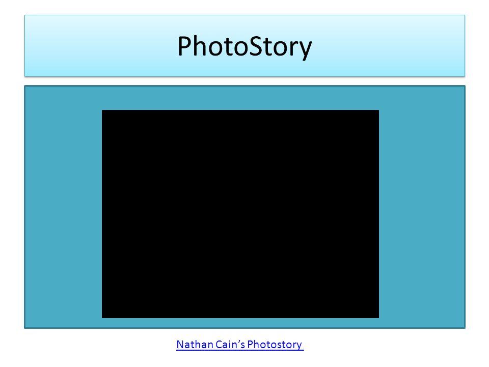 PhotoStory Nathan Cain's Photostory