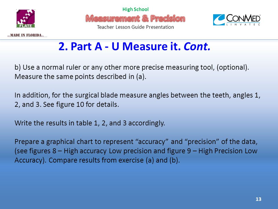 2. Part A - U Measure it. Cont.