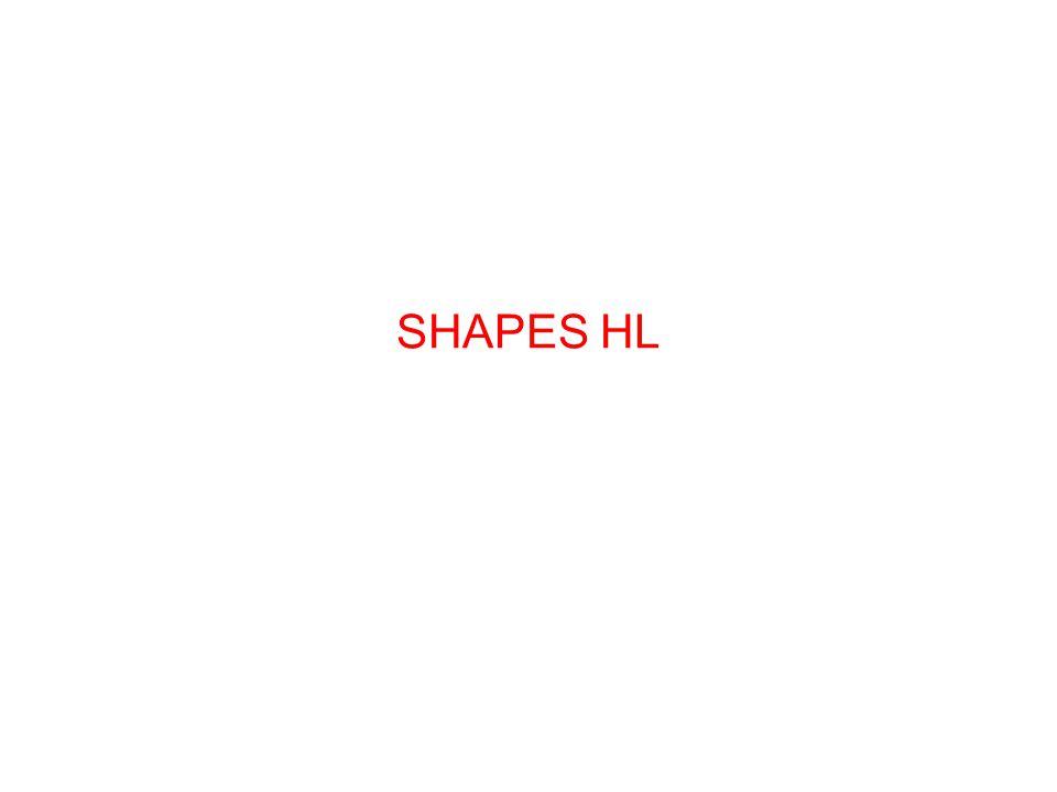 8–1 SHAPES HL