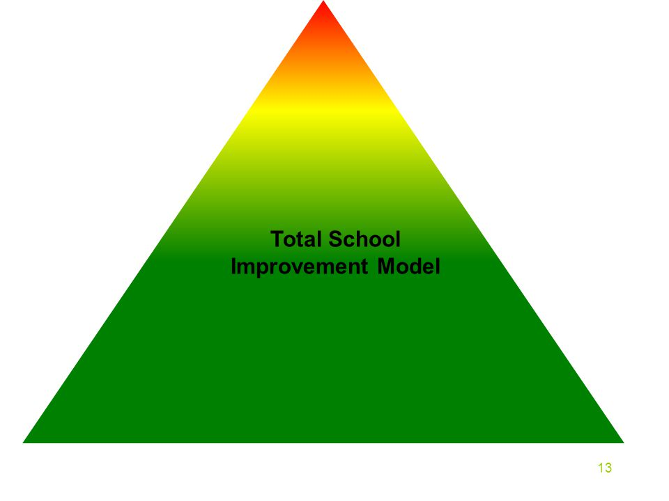 Total School Improvement Model 13