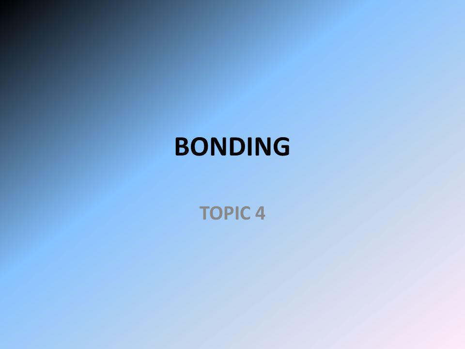 BONDING TOPIC 4