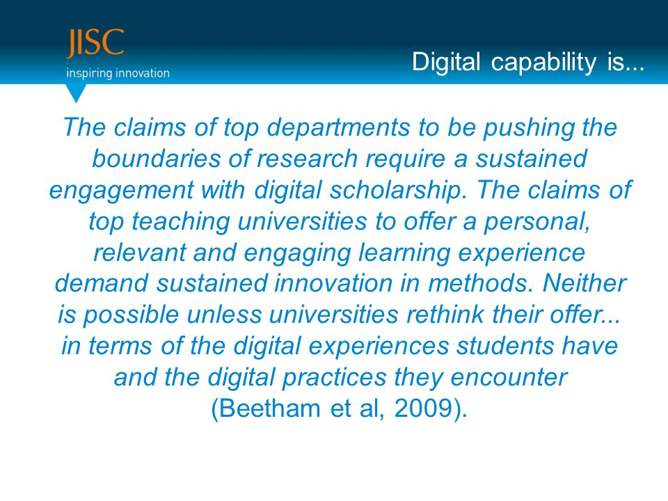 Digital capability is...