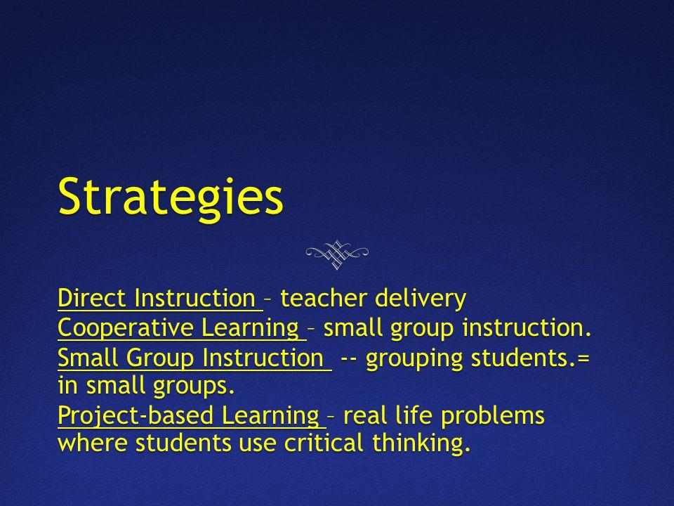 Direct Instruction nwscc.edu.