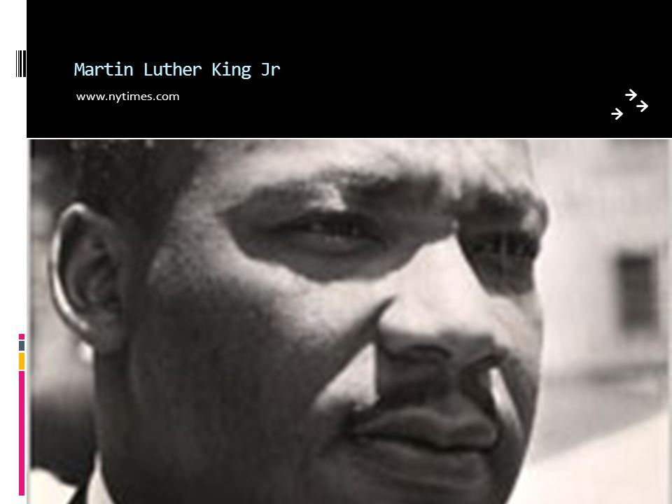 Martin Luther King Jr www.nytimes.com