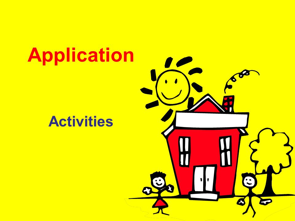 Application Activities