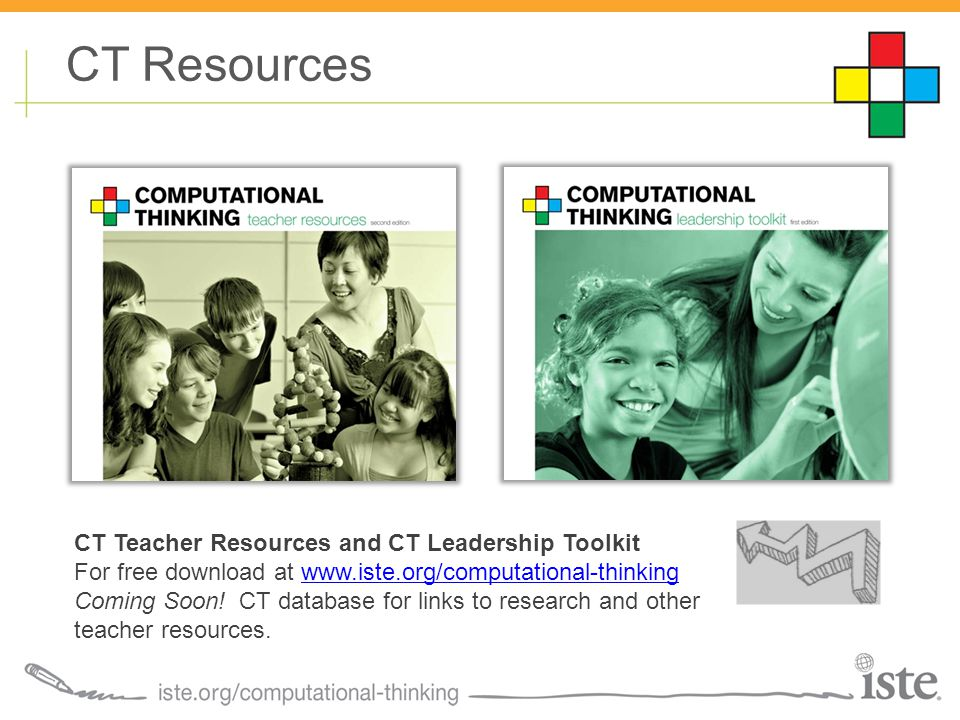 CT Teacher Resources and CT Leadership Toolkit For free download at   Coming Soon.