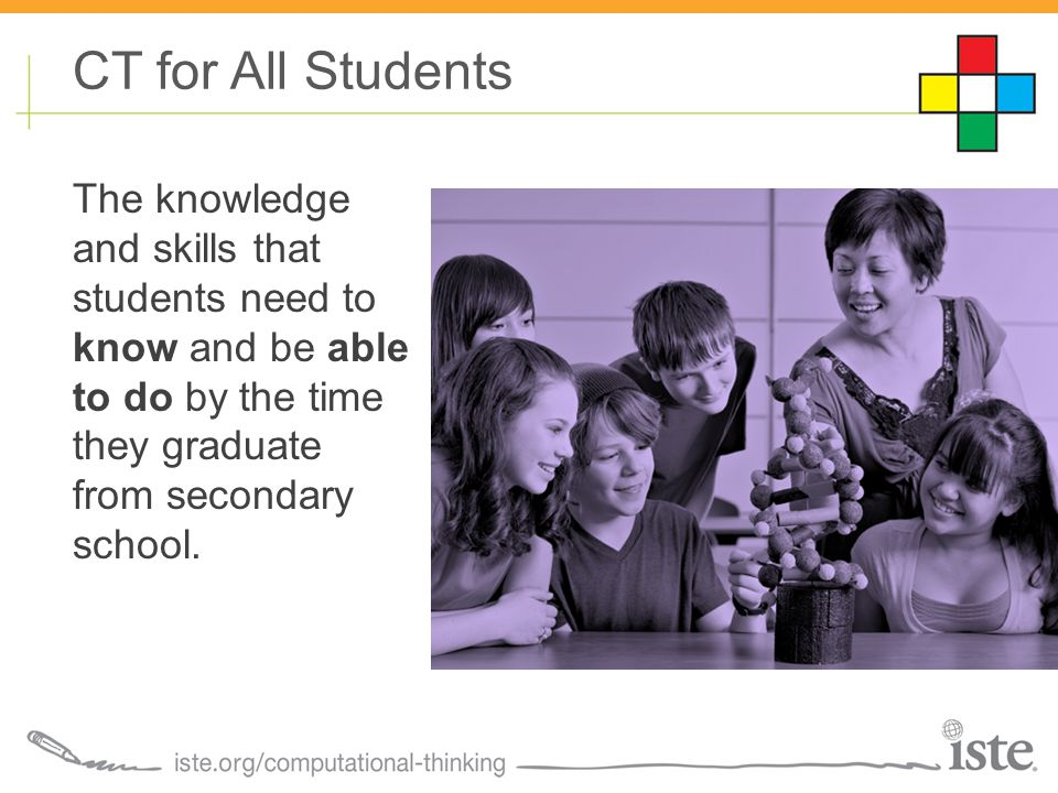 The knowledge and skills that students need to know and be able to do by the time they graduate from secondary school.