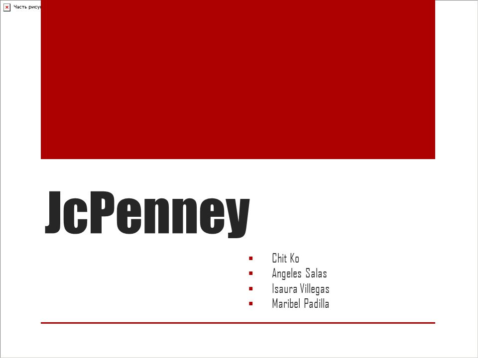 What is JcPenny ? Mid-range department stores Retailor