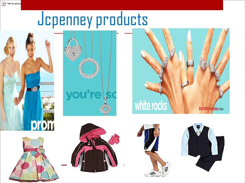 Jcpenney products