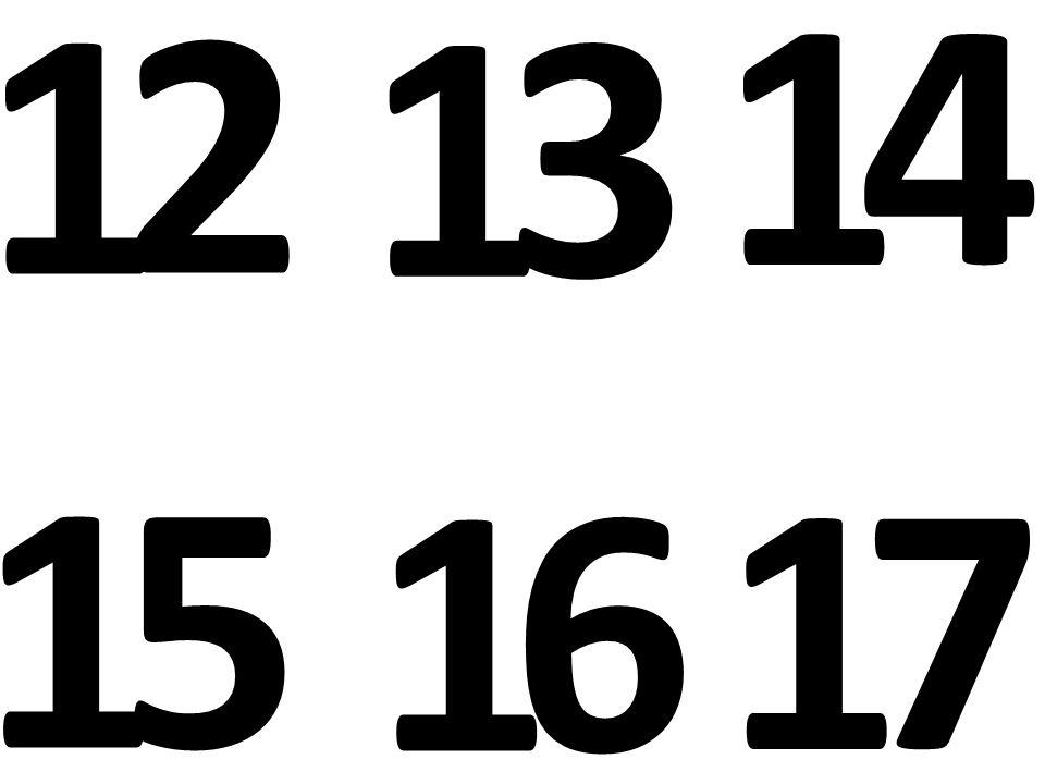 1 2 1 3 1 4 1 5 1 6 1 7