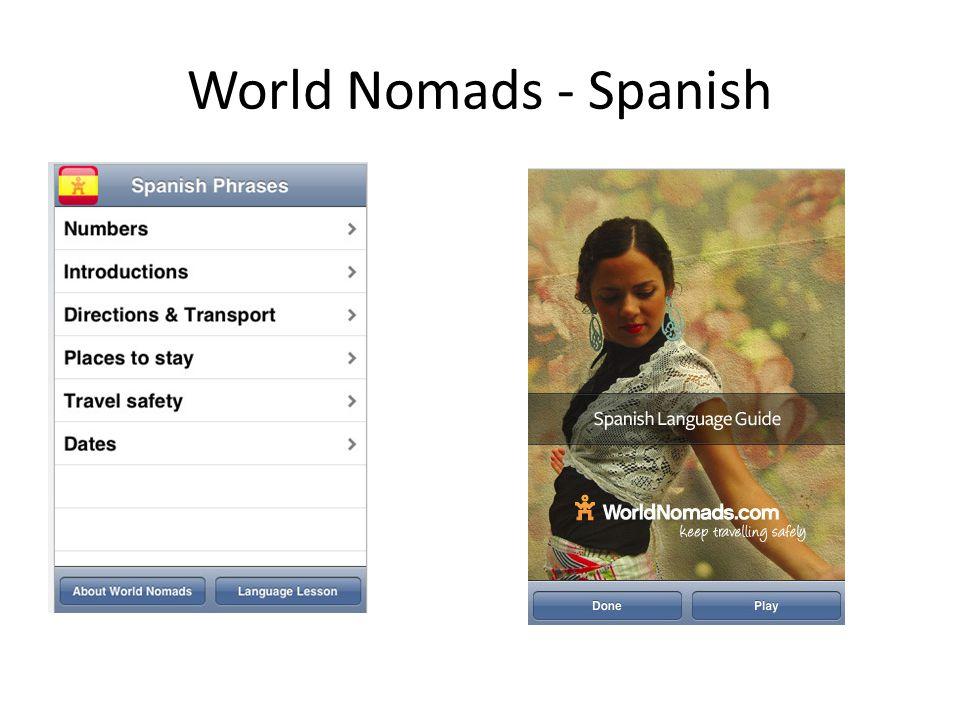World Nomads - Spanish