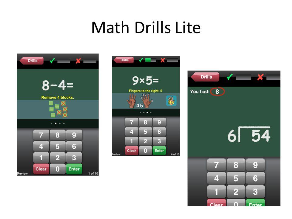 Math Drills Lite