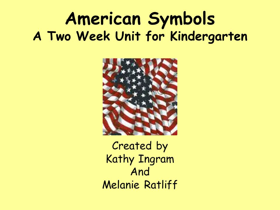 Outline American Symbols I.National Flag a. Watch video b.