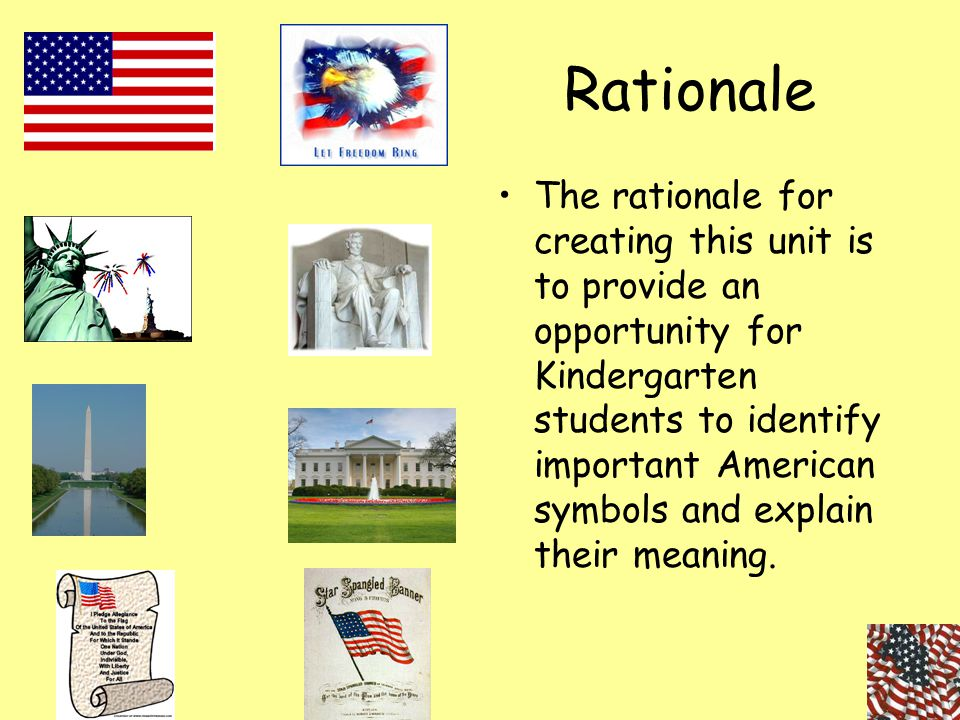 Standard-Based Education Unit Planning Template Standards-based Education Unit Planning Template Grade target: Kindergarten Subject: Social Studies Unit: Importance of American Symbols 1st: What should students know and be able to do.