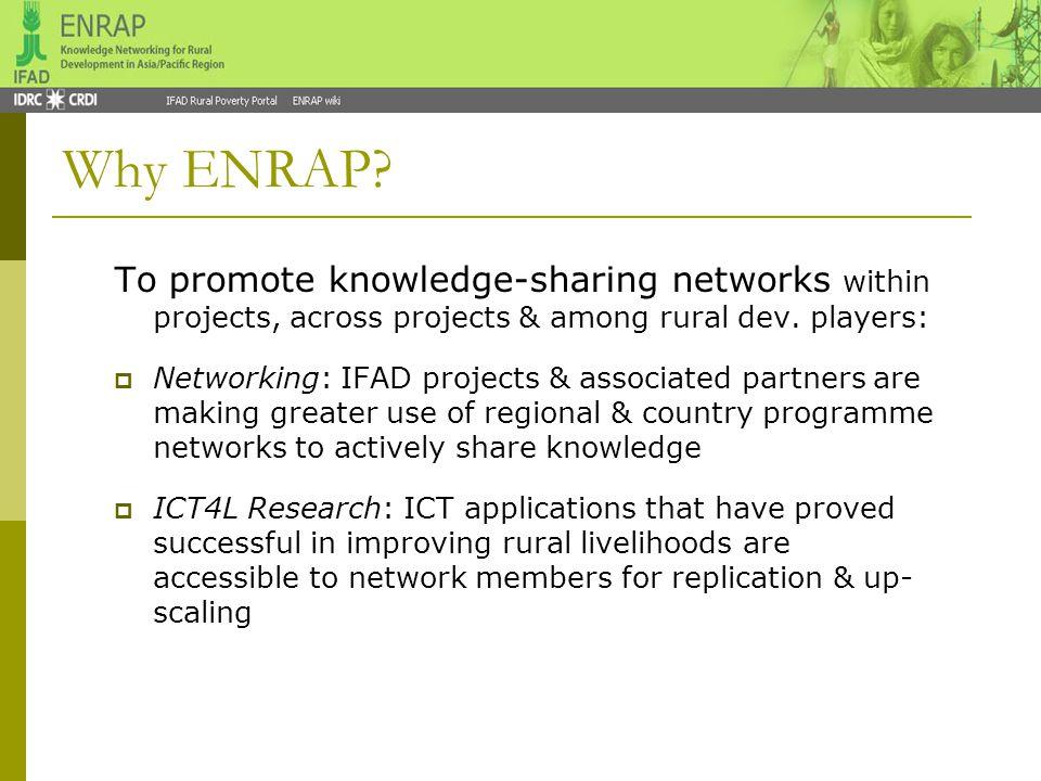 Why ENRAP.