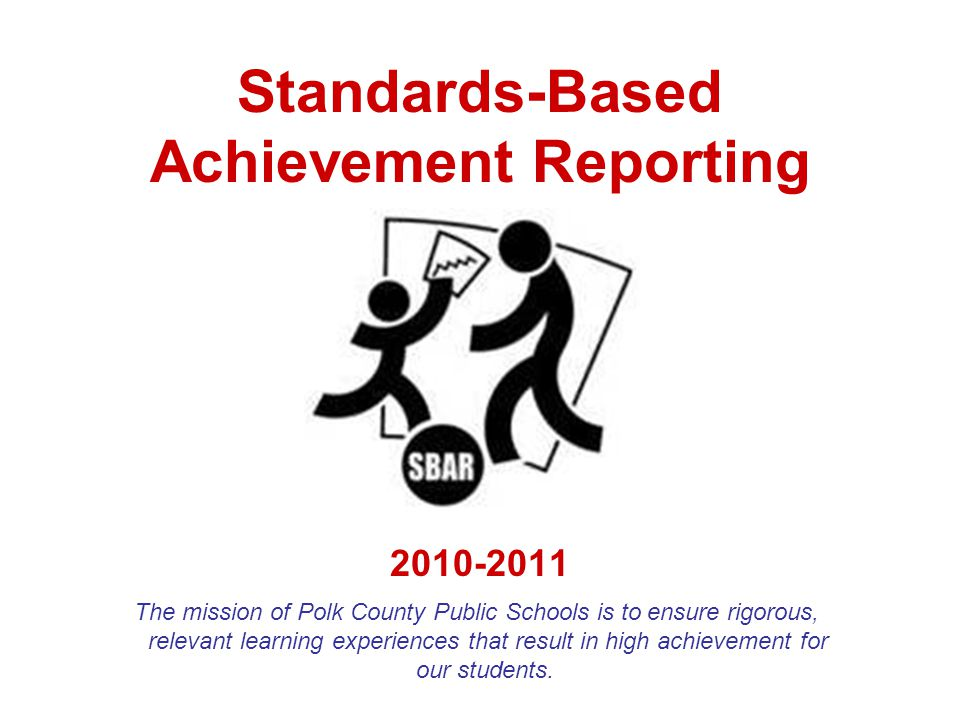 What are the main differences between the SBAR and a traditional report card.