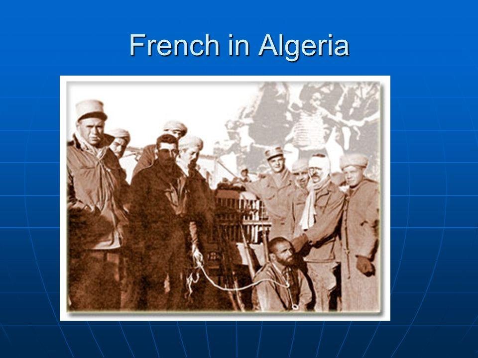 French in Algeria