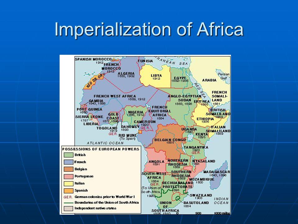 Imperialization of Africa