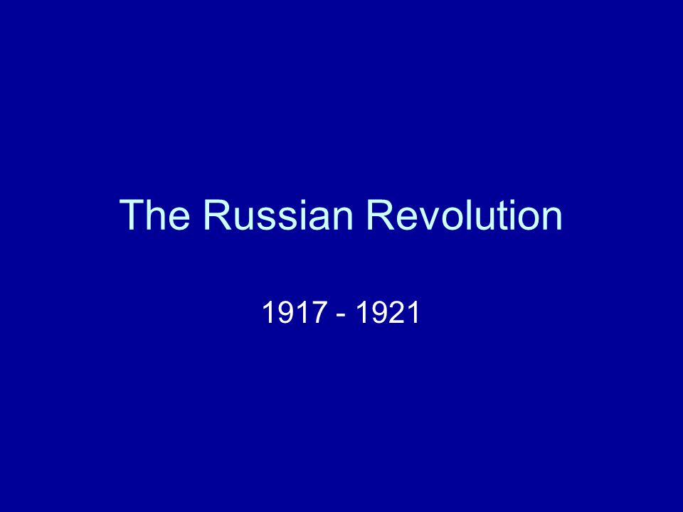 Fall of the Tsar (Czar?) The __________________________ –Russia's Congress Criticizes the war effort in 1916 Tsar Nicholas II closes it down