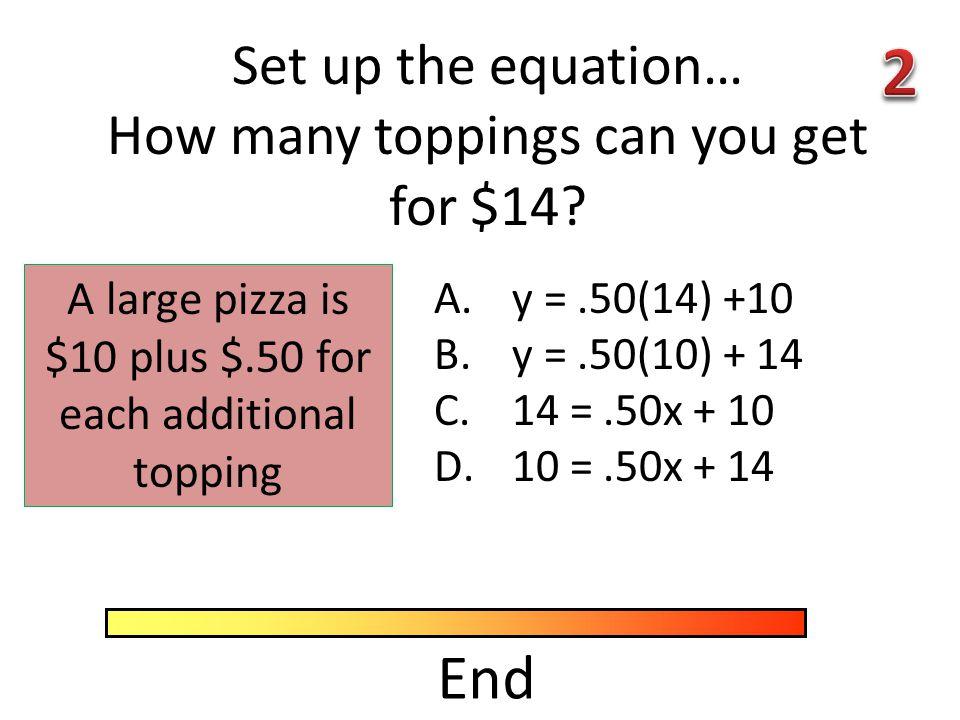 End Simplify A. 13B. 147 C. 17D. 336 30 – 2(5)+7