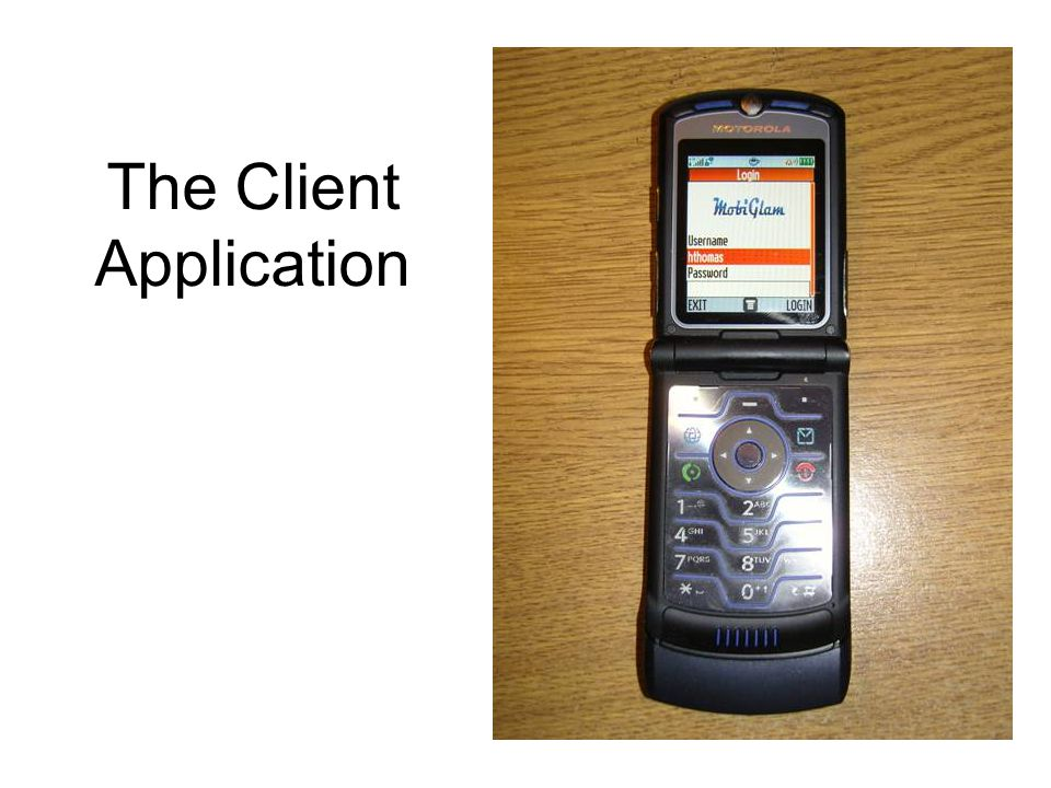 The Client Application