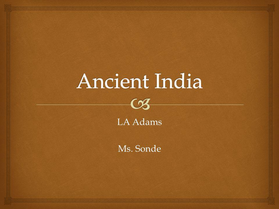 LA Adams Ms. Sonde