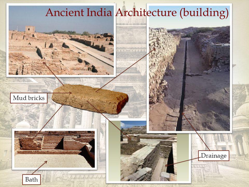 Drainage Mud bricks Ancient India Architecture (building) Bath