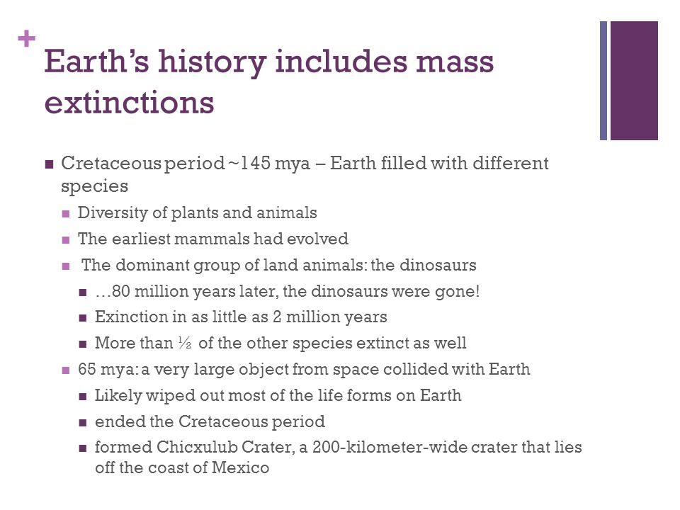 the cretaceous extinction event essay